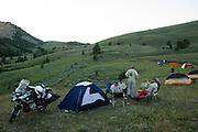 Camping at Morrison Lake in Montana