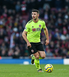Enda Stevens of Sheffield United on the ball - Mandatory by-line: Arron Gent/JMP - 18/01/2020 - FOOTBALL - Emirates Stadium - London, England - Arsenal v Sheffield United - Premier League