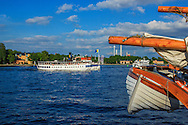 Ångbåten Norrskär på Strömmen i Stockholm.
