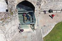 Caernarfon Castle New Gateway Entrance, Wales