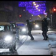 Nella foto via Santa Teresa Turin under snow, Torino sotto la neve.