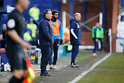 Micky Mellon Manager of Tranmere Rovers during the EFL Sky Bet League 1 match between Tranmere Rovers and AFC Wimbledon at Prenton Park, Birkenhead, England on 21 December 2019.