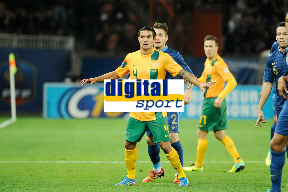 Australia's Tim Cahill during the International football Friendly Game 2013/2014 between France and Australia on October 11, 2013 in Paris, France. Photo Jean Marie Hervio / Regamedia/ DPPI