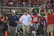 Ole Miss Coach Hugh Freeze vs. Texas at Vaught-Hemingway Stadium in Oxford, Miss. on Saturday, September 15, 2012. Texas won 66-21. Ole Miss falls to 2-1.