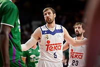Real Madrid's Andres Nocioni during semi finals of playoff Liga Endesa match between Real Madrid and Unicaja Malaga at Wizink Center in Madrid, May 31, 2017. Spain.<br /> (ALTERPHOTOS/BorjaB.Hojas)