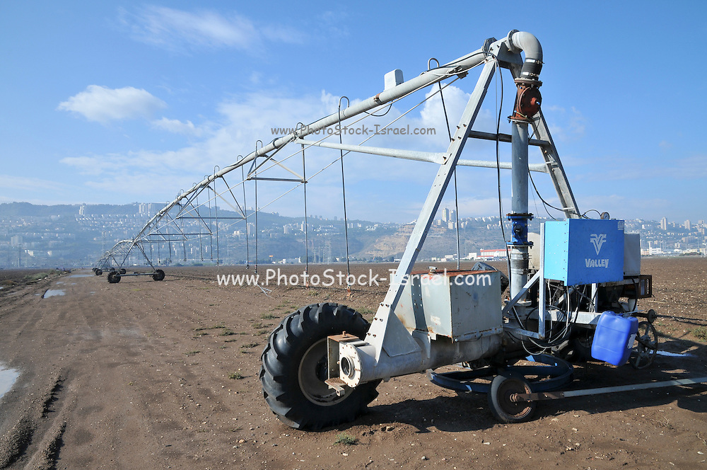 Irrigation Robot, photographed in Israel, Haifa Bay