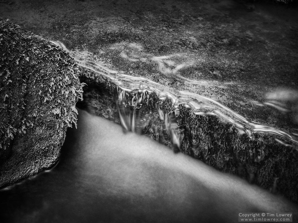 Long Exposure Of Mill Burn, Northumberland