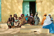 Girls at an event - UN Mission Podor Senegal