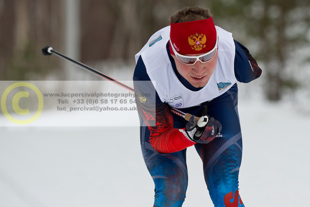 LEKOMTCEV Vladislav, RUS, Long Distance Biathlon, 2015 IPC Nordic and Biathlon World Cup Finals, Surnadal, Norway