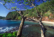 Lehoula Beach, Hana Coast, Maui, Hawaii, USA<br />