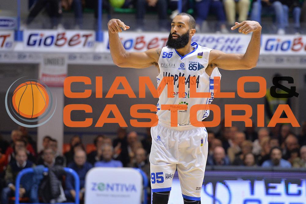 Randle Brian<br /> Happycasa Brindisi - Germani Basket Brescia<br /> Legabasket serieA2017-2018<br /> Brindisi , 29/10/2017<br /> Foto Ciamillo-Castoria/M.Longo