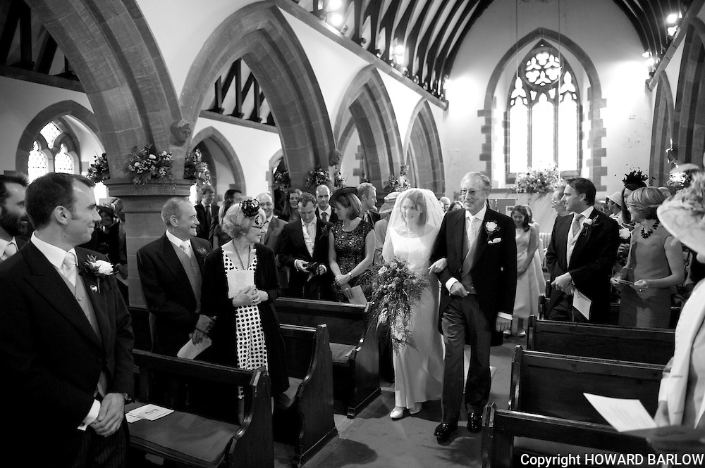 MEIRION WATKIN & CLAIRE BLACK wedding at Delamere home and Alvenley Church - 23 September 2012