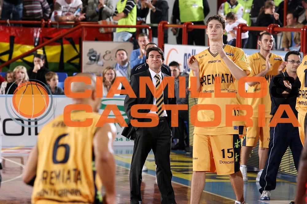 DESCRIZIONE : Porto San Giorgio Lega A1 2007-08 Premiata Montegranaro Armani Jeans Milano <br /> GIOCATORE : Alessandro Finelli <br /> SQUADRA : Premiata Montegranaro <br /> EVENTO : Campionato Lega A1 2007-2008 <br /> GARA : Premiata Montegranaro Armani Jeans Milano <br /> DATA : 04/11/2007 <br /> CATEGORIA : Ritratto <br /> SPORT : Pallacanestro <br /> AUTORE : Agenzia Ciamillo-Castoria/G.Ciamillo