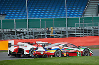 Gianmaria Bruni (ITA) / James Calado (GBR) #51 AF Corse Ferrari 488 GTE, WEC 6 Hours of Silverstone 2016 at Silverstone, Towcester, Northamptonshire, United Kingdom. April 15 2016. World Copyright Peter Taylor.