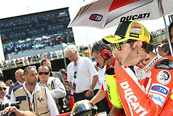 30.06.2012. Circuit Assen, NED, MotoGP, Iveco TT Assen, MotoGP, im Bild Valentino Rossi - Ducati team // during the MotoGP of Iveco TT Assen, MotoGP, at the Circuit Assen, Netherlands on 2012/06/30. EXPA Pictures © 2012, PhotoCredit: EXPA/ Insidefoto/ Semedia..***** ATTENTION - for AUT, SLO, CRO, SRB, SUI and SWE only *****