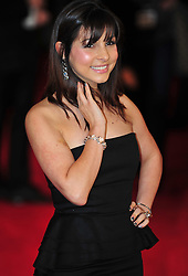 © Licensed to London News Pictures. 24/01/2012. London, England. Roxanne Pallett attends the world premiere of The Woman in Black , Hammer Films new horror movie at The Royal Festival hall  London  Photo credit : ALAN ROXBOROUGH/LNP