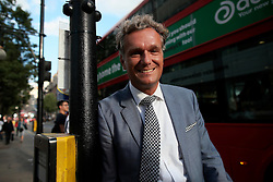 UK ENGLAND LONDON 8SEP16 - Hugo Boss MD for northern Europe, Stephan Born (48) from Freiburg, Germany, stands at a traffic light in Oxford Street, central London.<br /> <br /> jre/Photo by Jiri Rezac<br /> <br /> © Jiri Rezac 2016