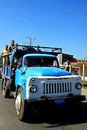 Truck in Cruces, Cienfuegos Province, Cuba.