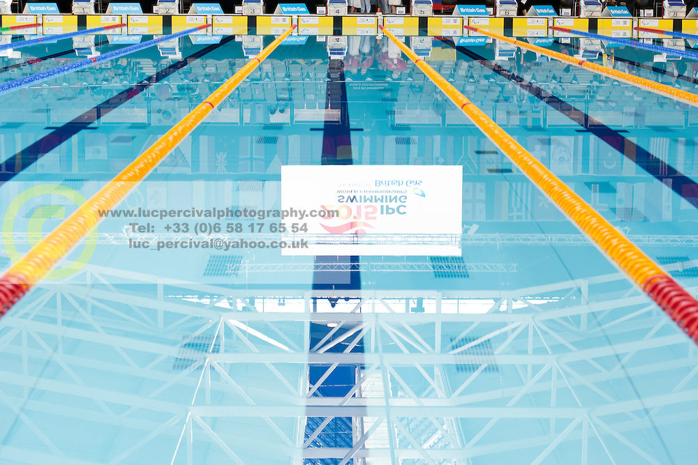 Reflection in Pool  at 2015 IPC Swimming World Championships -
