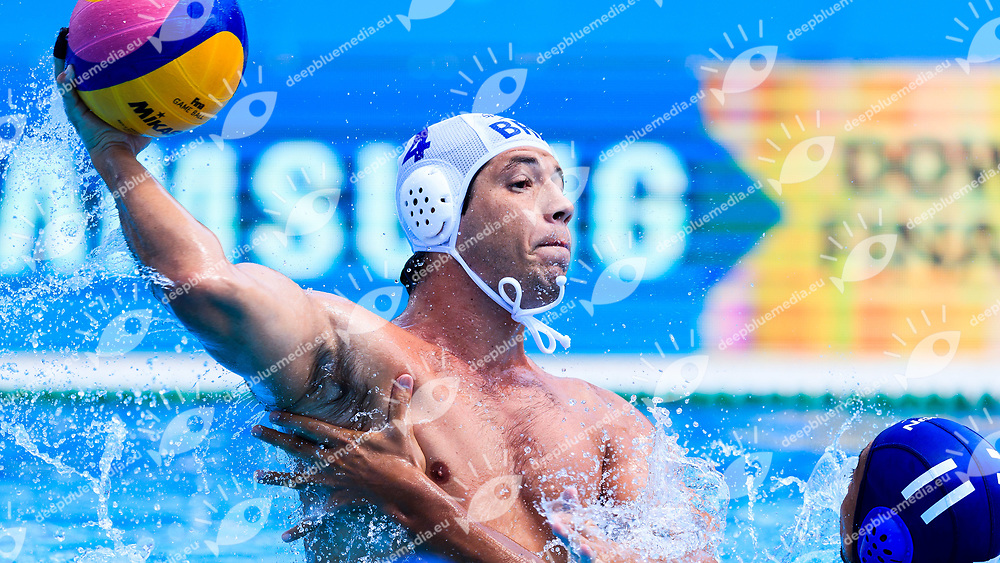 Guilherme Almeida of Brazil<br /> Brasil (white cap) -  Japan (blue cap)<br /> Classification  Round Water Polo Women<br /> Day12  25/07/2017 <br /> XVII FINA World Championships Aquatics<br /> Alfred Hajos Complex Margaret Island  <br /> Budapest Hungary <br /> Photo @Deepbluemedia/Insidefoto Photo @Marcelterbals/Deepbluemedia/Insidefoto