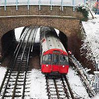 London January 13th Commuters travelling into London on overground train services suffered delays because of snow causing signalling problems and faults. London and the South East was hit by more snow today as the big thaw turned into nother cold snap....***Agreed Fee's Apply To All Image Use***.Marco Secchi /Xianpix. tel +44 (0) 771 7298571. e-mail ms@msecchi.com .www.marcosecchi.com