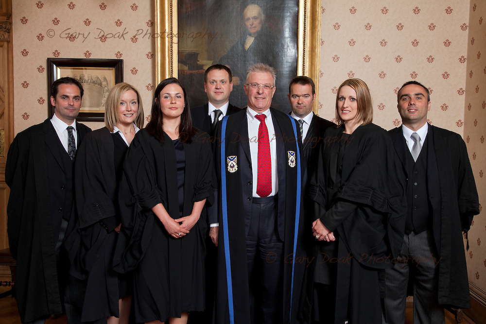 New Solicitor Advocates with the President of the Law Society of Scotland, Jamie Millar