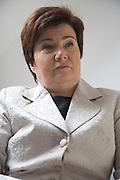 13.11.2006 Warszawa Hanna Gronkiewicz - Waltz na wydziale prawa Uniwersytetu Warszawskiego.Fot Piotr Gesicki Hanna Gronkiewicz-Waltz lawyer President of Warsaw capital city of Poland photo Piotr Gesicki