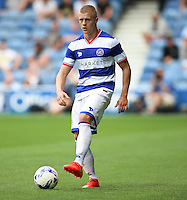 Queens Park Rangers' Jake Bidwell during the pre-season friendly match at Loftus Road, London.