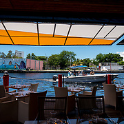 MIAMI, FLORIDA, JUNE 28, 2017<br /> A brand new restaurant along the Miami River near  the proposed new soccer stadium planned for the David Beckham group in a nearby parcel in Overtown. <br /> (Photo by Angel Valentin/Freelance)