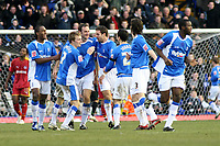 Photo: Mark Stephenson.<br />Birmingham City v Reading. The FA Cup. 27/01/2007 Birmingham's Martin Taylor (3rd from left) celebrates his goal with his team mates