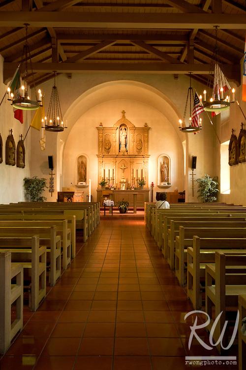Reconstructed Capilla (Chapel), Mission San Rafael Arcangel, California