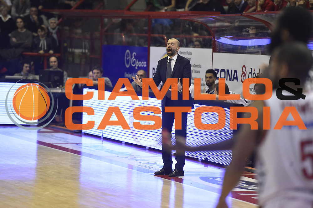 Pistoia  31 Gennaio 2014<br /> Basket campionato serie A1 2015/2016<br /> Giorgio Tesi Group Pistoia-Dolomiti Energia Trento<br /> Nella Foto Maurizio Buscaglia Dolomiti Energia Trento<br /> Foto Ciamillo