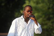 Derek Redmond performs during the Juneteenth Celebration in Oxford, Miss. on Saturday, June 19, 2010.