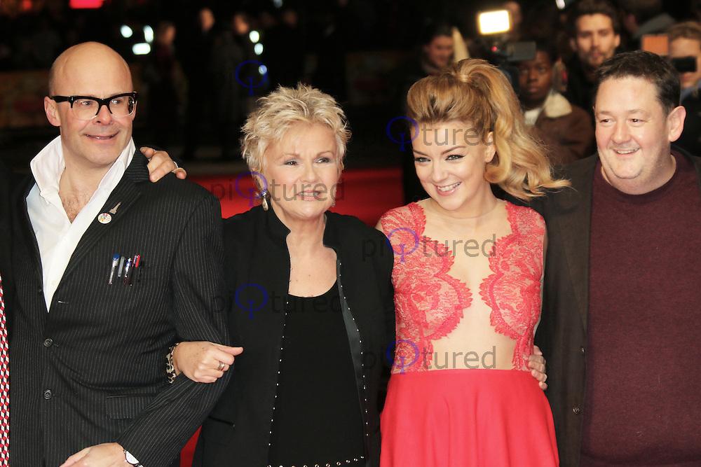 Harry Hill; Julie Walters; Sheridan Smith; Johnny Vegas, The Harry Hill Movie - World film premiere, Vue West End, London UK, 19 December 2013, Photo by Richard Goldschmidt