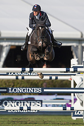 Delestre Simon, (FRA), Qlassic Bois Margot <br /> Furusiyya FEI Nations Cup of Belgium<br /> Longines Spring Classic of Flanders - Lummen 2015<br /> © Hippo Foto - Leanjo de Koster<br /> 01/05/15