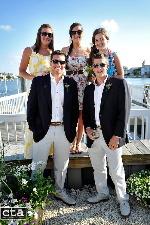 The wedding of Karen Cubbison and Craig Socie. Married June 2, 2012 in Stone Harbor, N.J. (Photo by Christopher T. Assaf/all rights reserved) #159..©2012