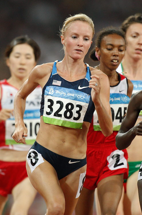 2008 Beijing Olympic Games- August 19th- Evening *** Shalane Flanagan, USA, 5000m *** Day 5 Evening
