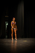 Araceli Velazquez competes in the NPC Mid-Illinois in Ottowa Saturday, April 1, 2017. Photo by Rob Hart & Monika Wnuk