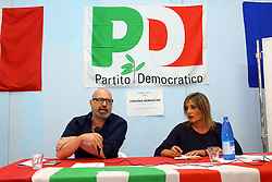 STEFANO BONACCINI ALLA FESTA PD DI BONDENO
