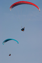 UK ENGLAND NORFOLK HUNSTANTON 18JAN04 - Paraglider (s) near the cliffs outside Hunstanton. Strong upward wind currents enable the gliders to 'hang' in the air and cruise around the coast at will.<br /> <br /> <br /> <br /> jre/Photo by Jiri Rezac<br /> <br /> <br /> <br /> © Jiri Rezac 2003<br /> <br /> <br /> <br /> Contact: +44 (0) 7050 110 417<br /> <br /> Mobile:  +44 (0) 7801 337 683<br /> <br /> Office:  +44 (0) 20 8968 9635<br /> <br /> <br /> <br /> Email:   jiri@jirirezac.com<br /> <br /> Web:    www.jirirezac.com