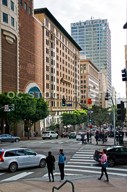 Downtown Los Angeles Financial District