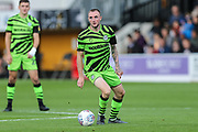 Forest Green Rovers Carl Winchester(7) during the EFL Sky Bet League 2 match between Cambridge United and Forest Green Rovers at the Cambs Glass Stadium, Cambridge, England on 7 September 2019.