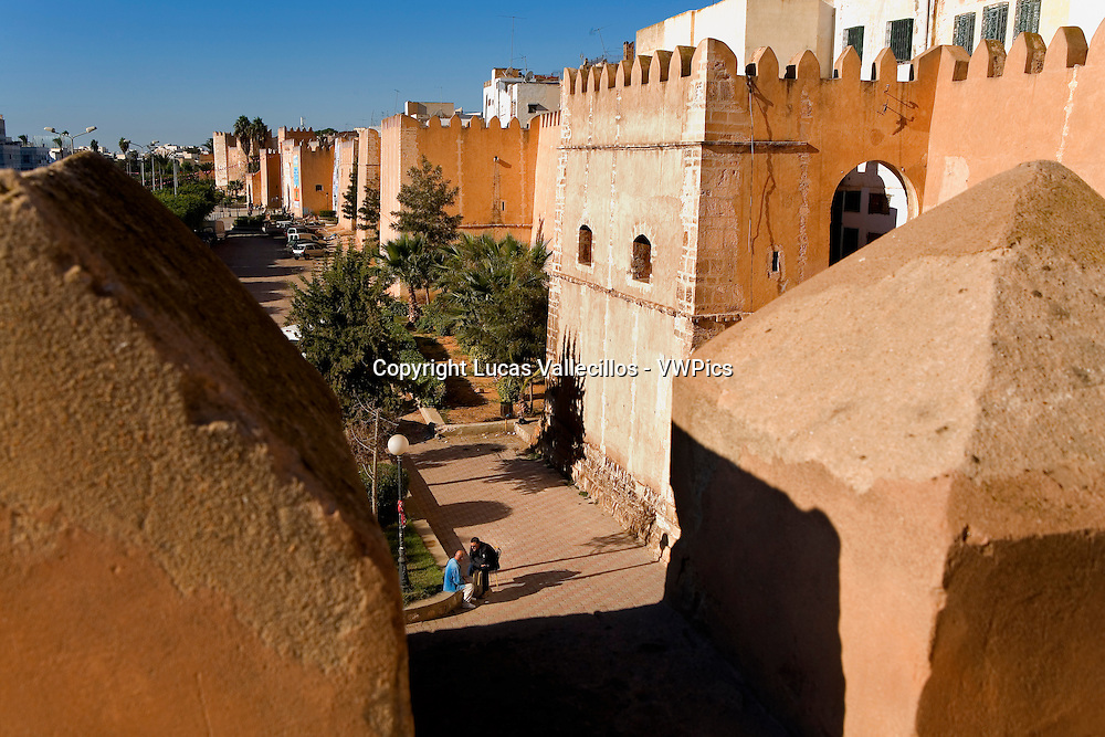 Tunez: Sfax. Walls of the medina.