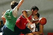 BORMIO LUGLIO 2004<br /> RITIRO PREOLIMPICO NAZIONALE ITALIANA BASKET NELLA FOTO RODOLFO ROMBALDONI<br /> FOTO CIAMILLO-CASTORIA
