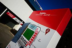Ashton Gate signage - Mandatory by-line: Dougie Allward/JMP - 01/12/2019 - RUGBY - Ashton Gate - Bristol, England - Bristol Bears v London Irish - Gallagher Premiership Rugby