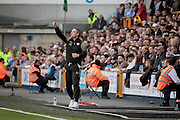 Milwall manager Neil Harris during the Sky Bet League 1 play-off second leg match between Millwall and Bradford City at The Den, London, England on 20 May 2016. Photo by Nigel Cole.