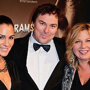 NLD/Den Haag/20111201- Premiere Ramses, Quinty Trustfull - van den Broek, Caspar Burgi en Loretta Schrijver