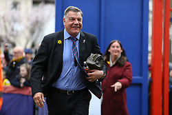 Crystal Palace manager Sam Allardyce arrives at Selhurst Park - Mandatory by-line: Jason Brown/JMP - 18/03/2017 - FOOTBALL - Selhurst Park - London, England - Crystal Palace v Watford - Premier League