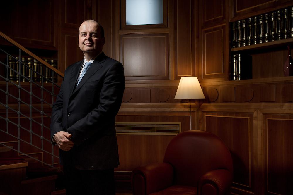 MIlan, seat of the Assicurazioni Generali. The Chief Financial Officer Alberto Minali.