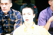 Ben Sherman photo shoot.London UK, 1990s